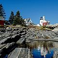Pemaquid Point Reflections by Corey Ann Balazowich