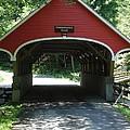 Pemigewasset River Bridge by Kerri Mortenson