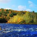 Pemigewassett River by Mim White