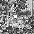 Pen And Ink World 1 by Karma Moffett