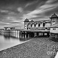 Penarth Pier 1 Mono by Steve Purnell
