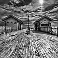 Penarth Pier 2 Monochrome by Steve Purnell