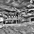 Penarth Pier 6 Monochrome by Steve Purnell