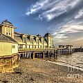 Penarth Pier Dawn 2 by Steve Purnell