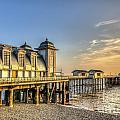 Penarth Pier Dawn by Steve Purnell