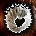 Pencil Shaving Heart by Marianna Mills