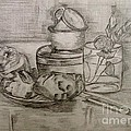 Pencil Still-life. by Caroline Street