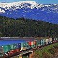 Pend Oreille Freight by Benjamin Yeager