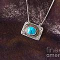 Pendant With Turquoise by Patricia  Tierney