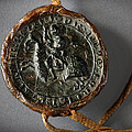 Pendent Wax Seal Of The Council Of Calahorra by RicardMN Photography