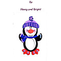 Penguin Christmas by Judy Hall-Folde