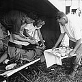 Penicillin Injection, World War II by Science Photo Library