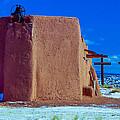 Penitente Morada Christian Church At Abiquiu New Mexico by Jeff Black