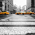 Penn Station Yellow Taxi by John Farnan