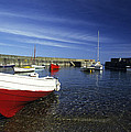 Pennan Harbour Scotland by Jim  Wallace