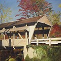Pennsylvania Covered Bridge by Barbara McDevitt