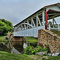 Pennsylvania Covered Bridge by Kathy Churchman