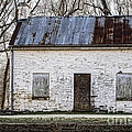Pennyfield Lockhouse On The C And O Canal In Potomac Maryland by William Kuta