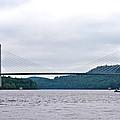 Penobscot Narrows Bridge by Tara Potts