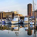 Pensacola Beach Harbor Panoramic by JC Findley