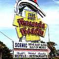 Pensacola Beach Sign by Tom Brickhouse