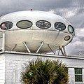 Pensacola Beach Ufo House by JC Findley