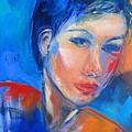 Pensive by Elise Palmigiani