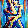 Pensive Figure by Helena Wierzbicki