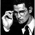 Pensive Man With Glasses by Artistic Photos