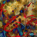 Penstemon Abstract 2 by Mike Nellums