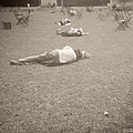 People Sleeping In The Park by Beverly Brown