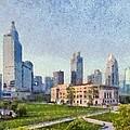 People Square In Shanghai by George Atsametakis