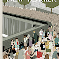 People Visit The 9/11 Memorial by Adrian Tomine