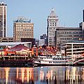 Peoria Illinois Skyline by Paul Velgos
