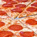 Pepperoni Pizza by Jim DeLillo