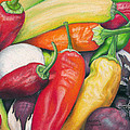 Peppers And Onions by Adam Johnson
