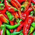 Peppers by Dan Stone