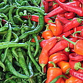 Peppers by John Halliday