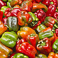 Peppers by Ricky L Jones