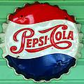 Pepsi Cap by David Lee Thompson