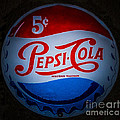 Pepsi Cap Sign by Mitch Shindelbower