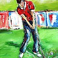 Ideal Gift For Golfing Husband by Mary Cahalan Lee- aka PIXI
