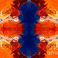 Perfectly Balanced Philosophies Abstract Pattern Art By Omaste Witkowski by Omaste Witkowski