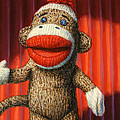 Performing Sock Monkey by James W Johnson