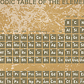 Periodic Table Of The Elements - 3 by Paulette B Wright
