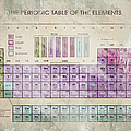 Periodic Table Of The Elements - 5 by Paulette B Wright