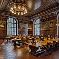 Periodical Room At The New York Public Library by Susan Candelario