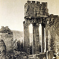 Peristyle, Temple Of Bacchus, Baalbek by Getty Research Institute