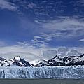 Perito Moreno Glacier And The Andes by Michele Burgess