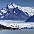 Perito Moreno Glacier - Snow Top Mountains by Kim Andelkovic